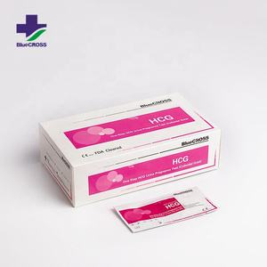 CE FDA ISO Certificatie 25 Years Manufacturer HCG Urine Pregnancy Test Strip Kits