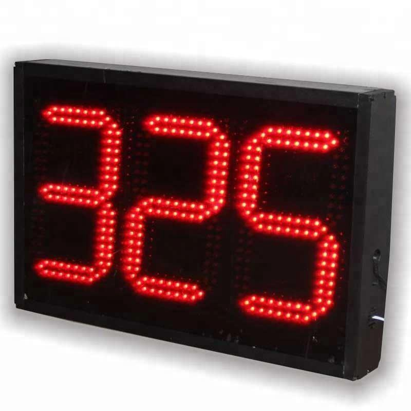 Electronic 3 Digits 8 Inch Large Digital Countdown Led Timer with Days
