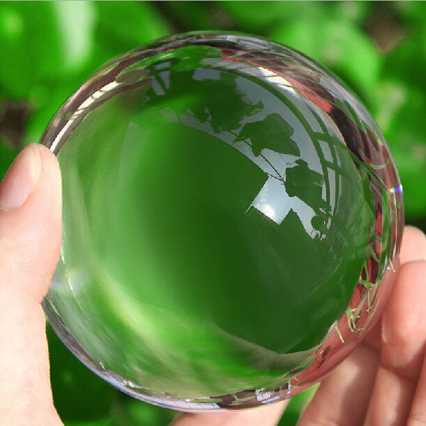 80 Mm Shining K9 Crystal Ball, Magic Decoratieve Glas Lucky Ball Sphere