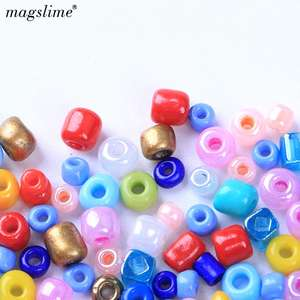 MAGSLIME Crystal Spacer Czech Glass Seed Beads For Jewelry Making Earring Necklace Bracelet Charms Handmade DIY