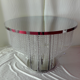 2020 new lighted silver crystal cake table for wedding decoration