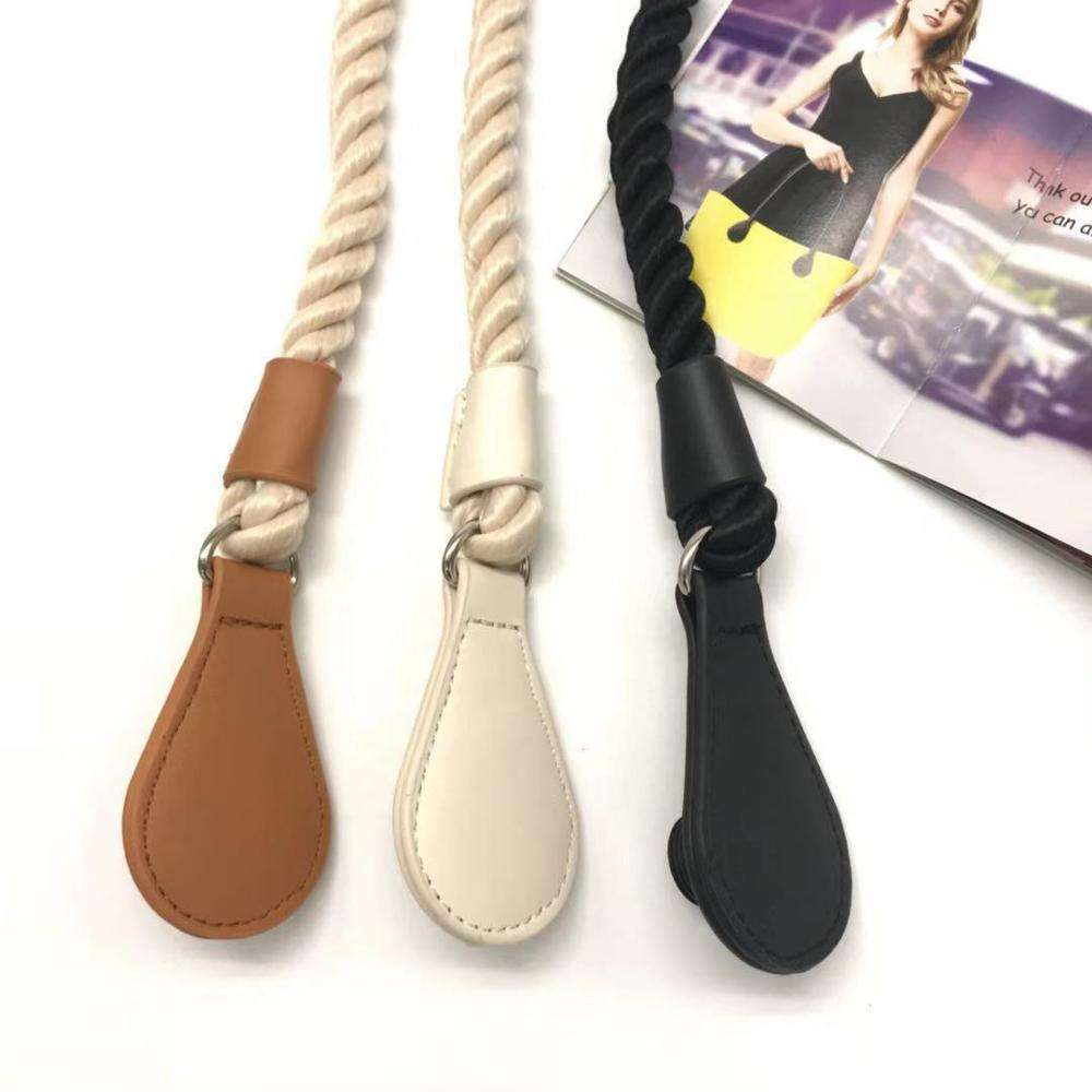 2019 new bag parts accessories rope handle with pu leather bag handle DIY bags women handbags