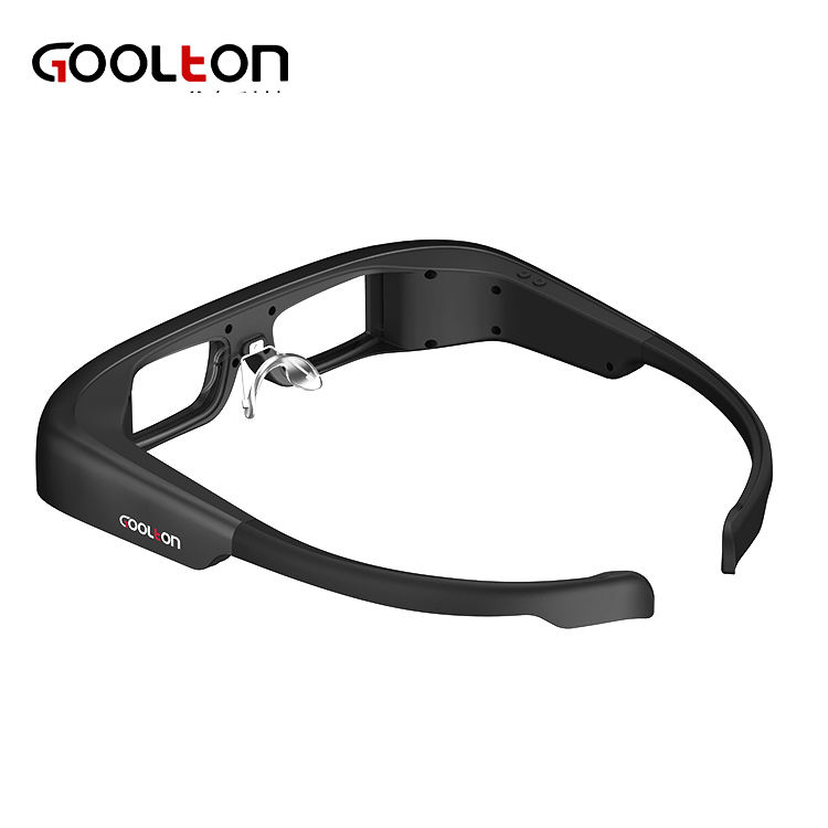 2018 New design Optical waveguide AR glasses Android with camera