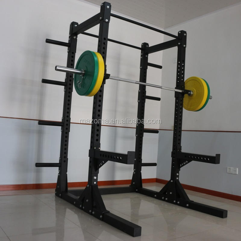 Barbell fitness power rack