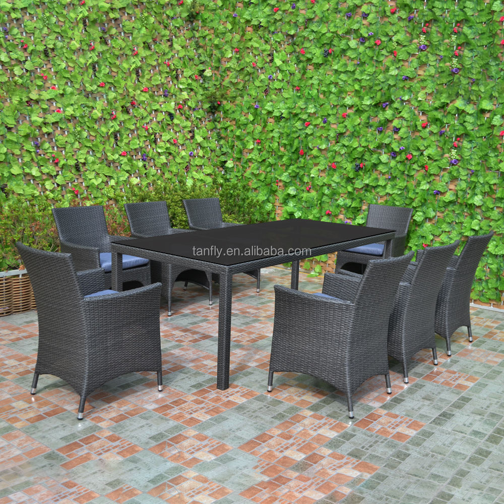 Garden Furniture Wicker Rattan 8 Seater Outdoor Dining Setting Table And Chairs Buy Outdoor Dining Set Outdoor Dining Furniture Set 8 Seater Outdoor Setting Product On Alibaba Com