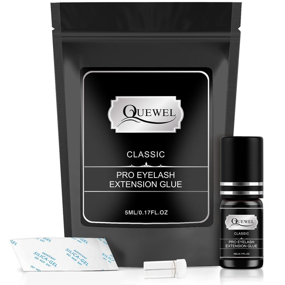 Beauty Supplies Quewel Eyelash Glue Adhesive, Lasting Long Waterproof Eyelash Glue, Eyelash Glue For Extensions