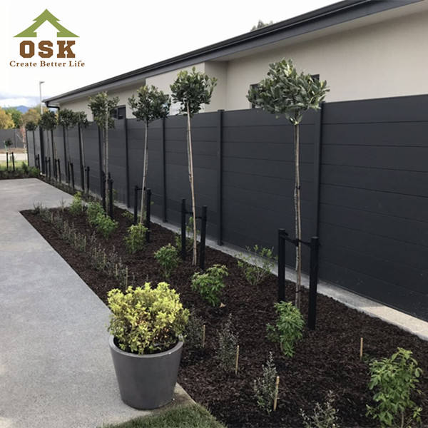 OSK LATEST DESIGN GARDEN FENCE FOR WPC WALL PANEL OUTDOOR MADE IN CHINA