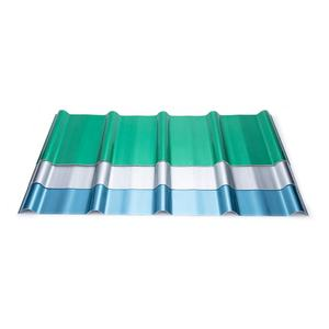 OEM colorful heat resistant insulation frp fiberglass plastic corrugated roofing sheets in hot place