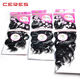 Stock Top Quality 7PCS Virgin Hair Weave Including 1PCS Free Lace Closure Cheap Remy Brazilian Hair