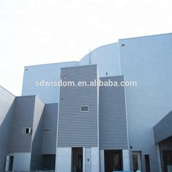 Prefabricated steel frame villa with ISO beam