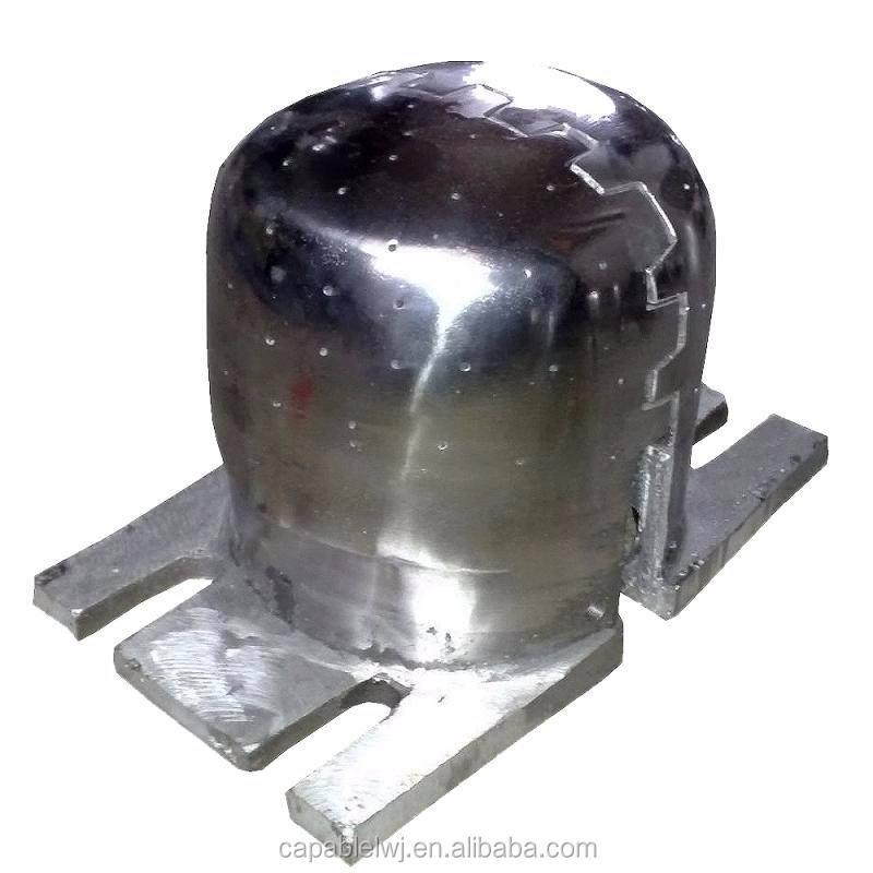 cap ironing mold /heating mold