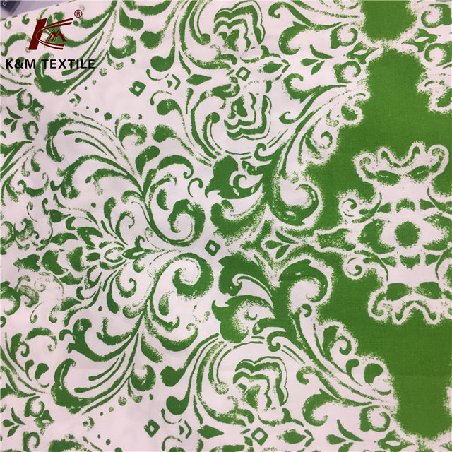 Cotton Spandex Fabric Customized Printed 96 4