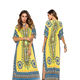 designs cheap beachwear ladies kaftan maxi women Split dresses
