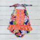 One Piece Child Bathing Suit Printed flower Romper Sexy Cute Little Girls Swimsuits
