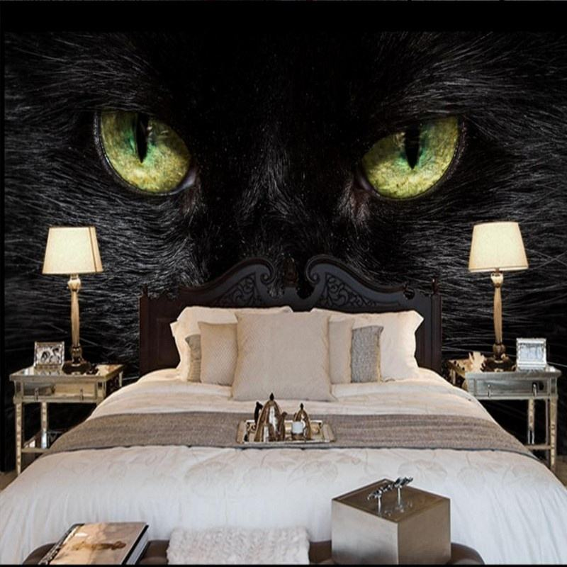 3d Embossed Wallpaper Beautiful Wolf Cat Leopard Mural Close-Up Photography Andre Kim Wallpaper Wallpaper Stripper