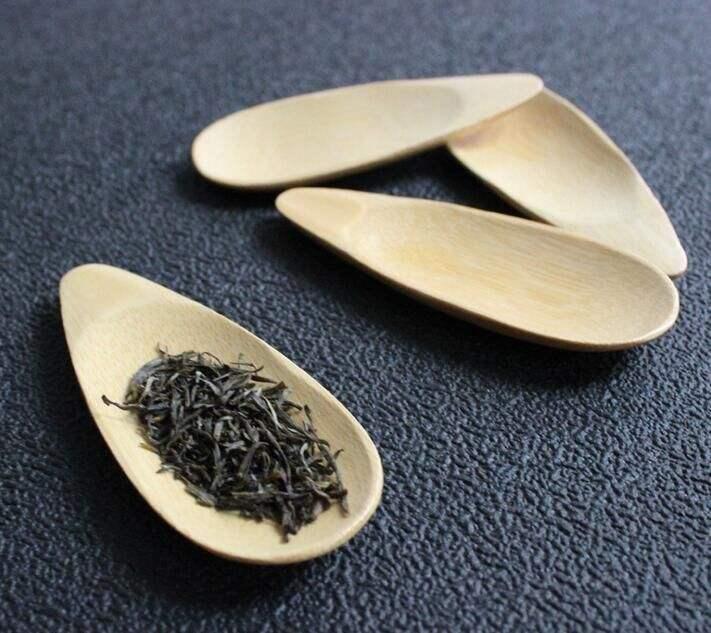 Massa de comprar da china colher de bambu colher de chá ou de sal para atacado