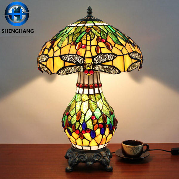 2020 big discounts tiffany owl lamp and tiffany Butterfly lamp