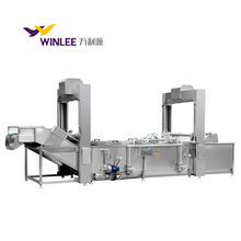 Chinese automatic latest steam heating sausage processing and cooking machine