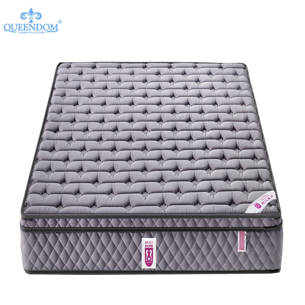 Multifunctional 12 inches high density pocket spring pillow top memory foam for hotel