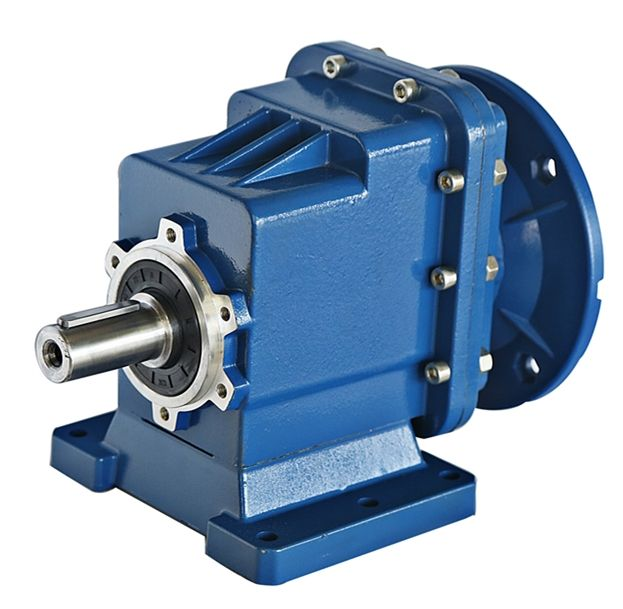 RC series industry helical transmission forward reverse electric motor gearbox speed reducer