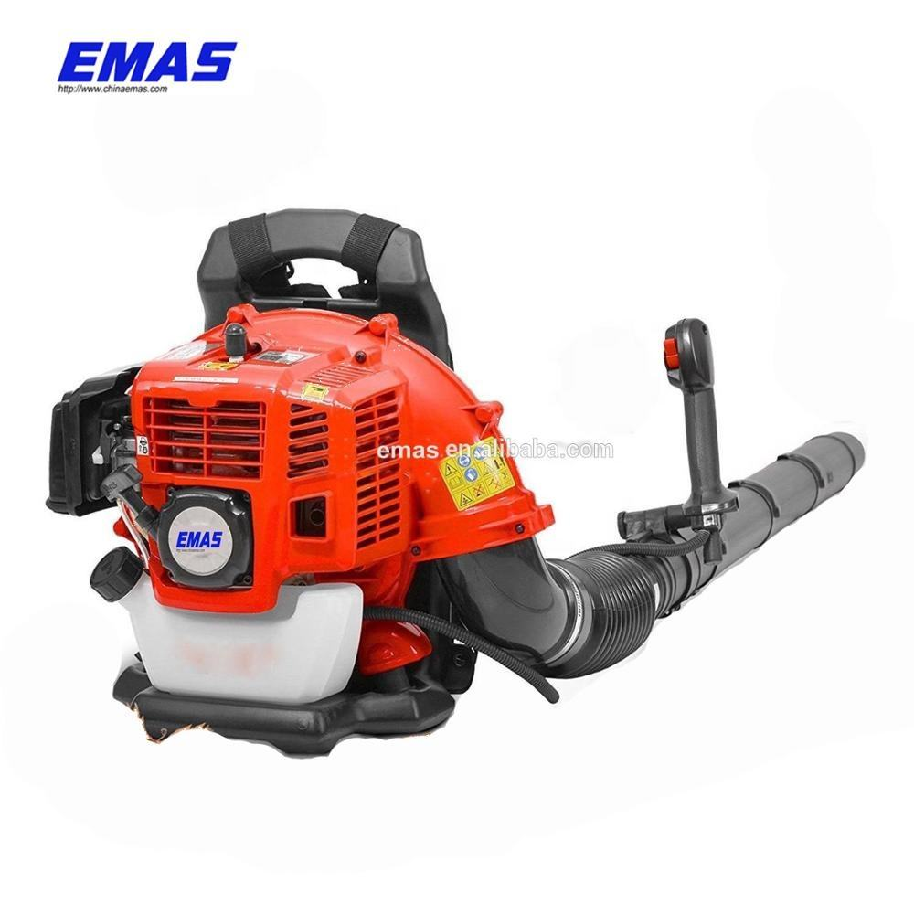 EMAS 43cc Petrol Gas Garden Snow and Leaf Blower with Backpack Harness