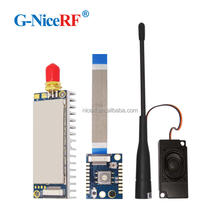 G-NiceRF 4W UHF High Power Long Range Walkie Talkie 10km Module  400~480 MHz | Tx and Rx frequency full band rf modulator