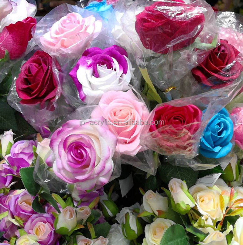 Wholesale Colourful Artificial Rose Flowers for Wedding