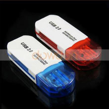 All In One USB 2.0 SD Memory Card Reader