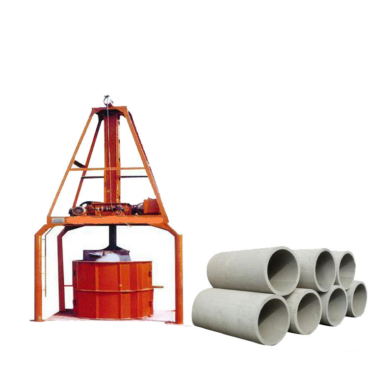 LY-V simple concrete pipe making machine