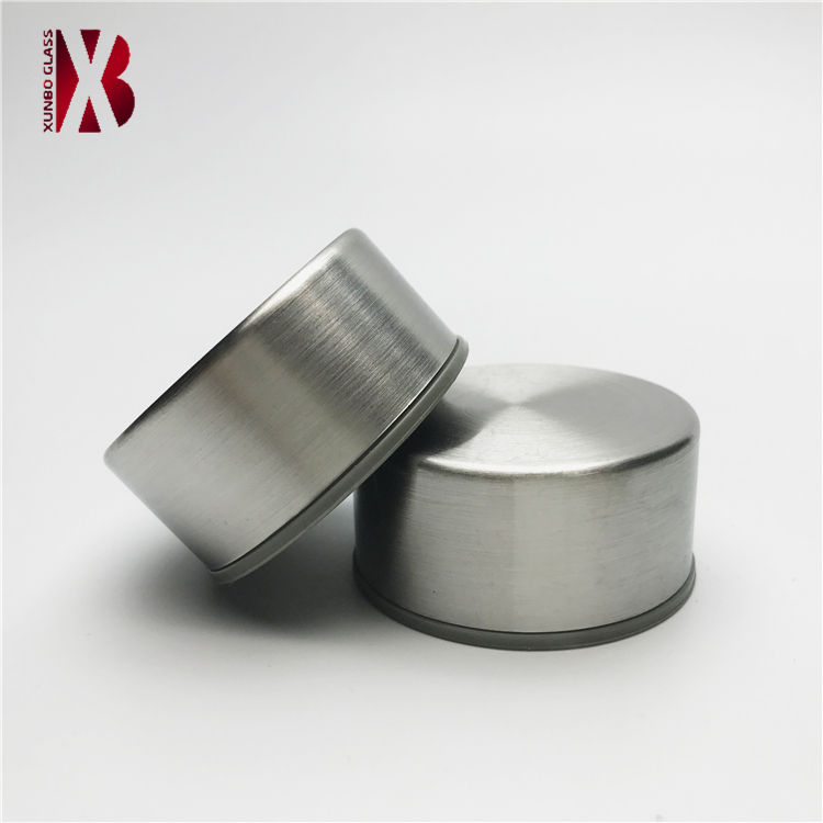 Wholesale threaded stainless steel screw cap for sport water glass bottle without strap