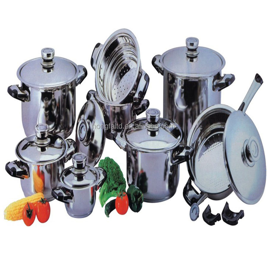 15 piece Cookware Set in Wide Edge