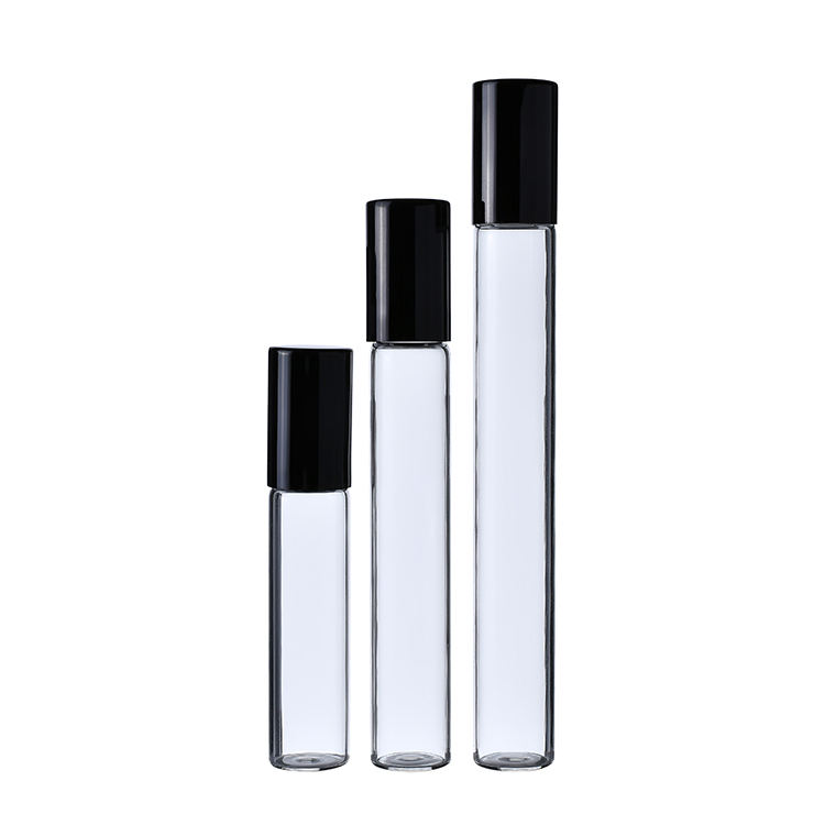 5ml Deodorant Bottle Clear Glass Roll On Perfume Bottle