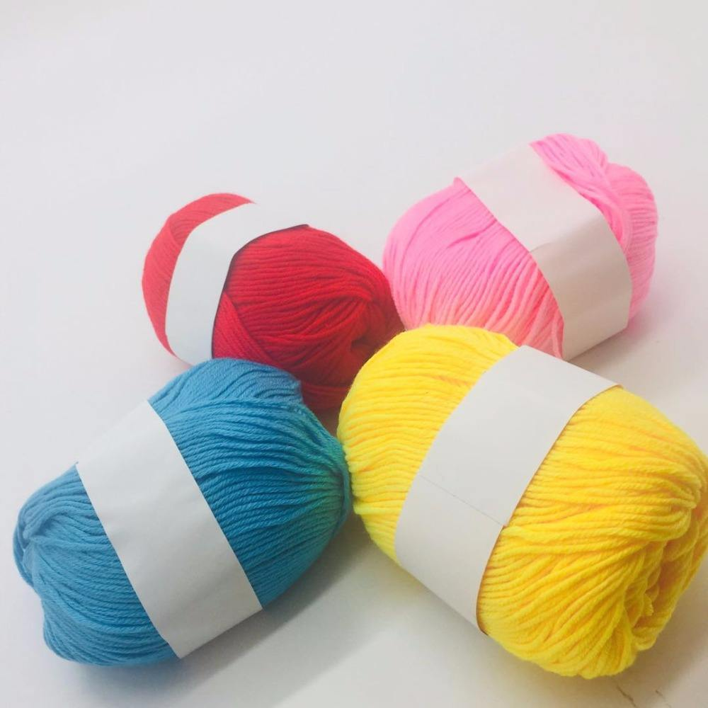 Mulit color of ball yarn unusual knitting yarns with cheap price