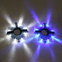 Bicycle UFO Hubs Lights Bike Front Tail LED Warning Light
