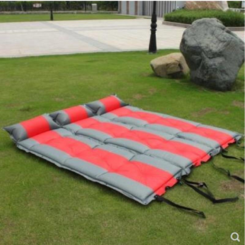 2018 hot sale multi sizes multi colors eco-friendly outdoor self inflatable camping pad--camping mat--camping air mattress
