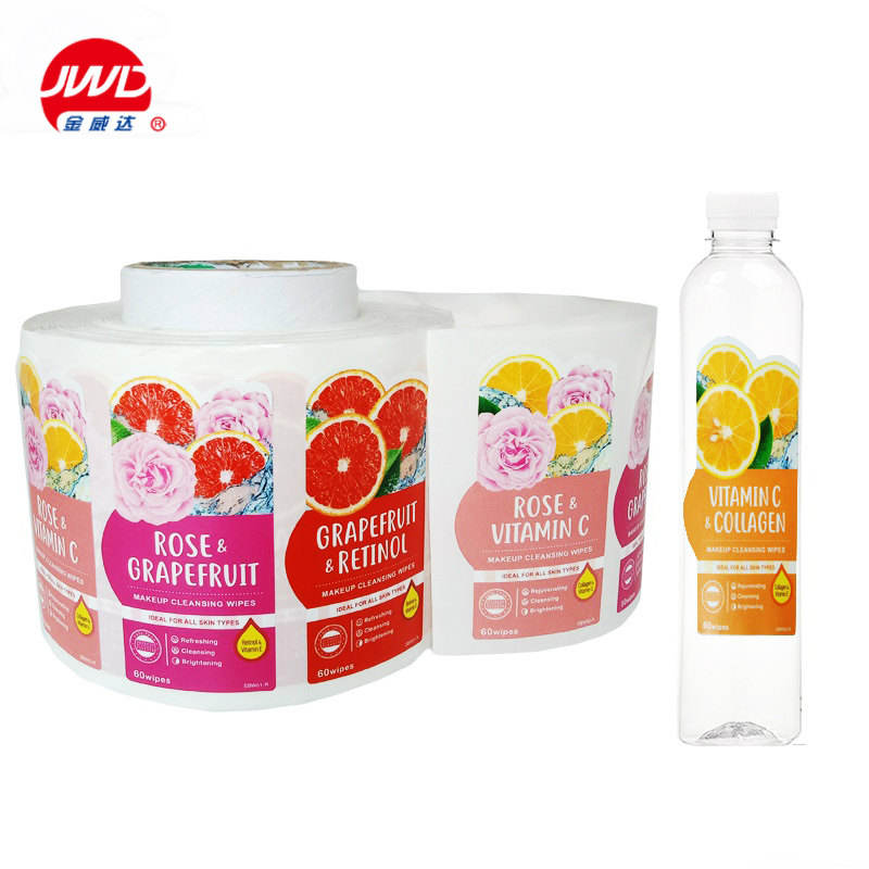 customized private design manufacturers shampoo plastic bottle paper label name stickers
