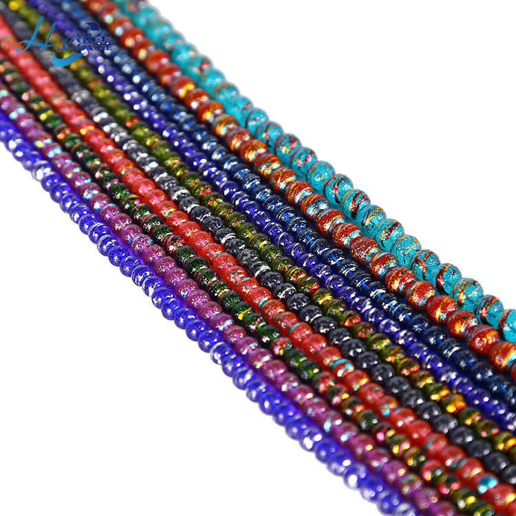 High Quality Artificial Gemstone Round Colorful Beads For Sale