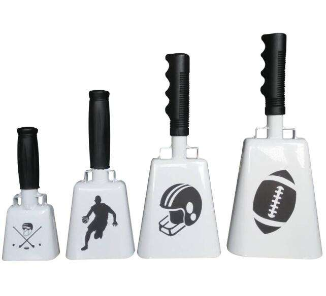 Wholesale hot custom design handle cowbell with custom logo
