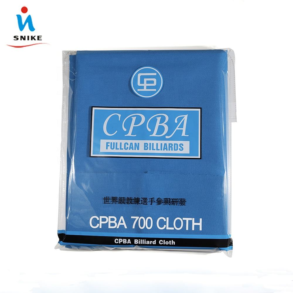 Wholesale billiard accessories Good quality CPBA 700 pool billiard cloth