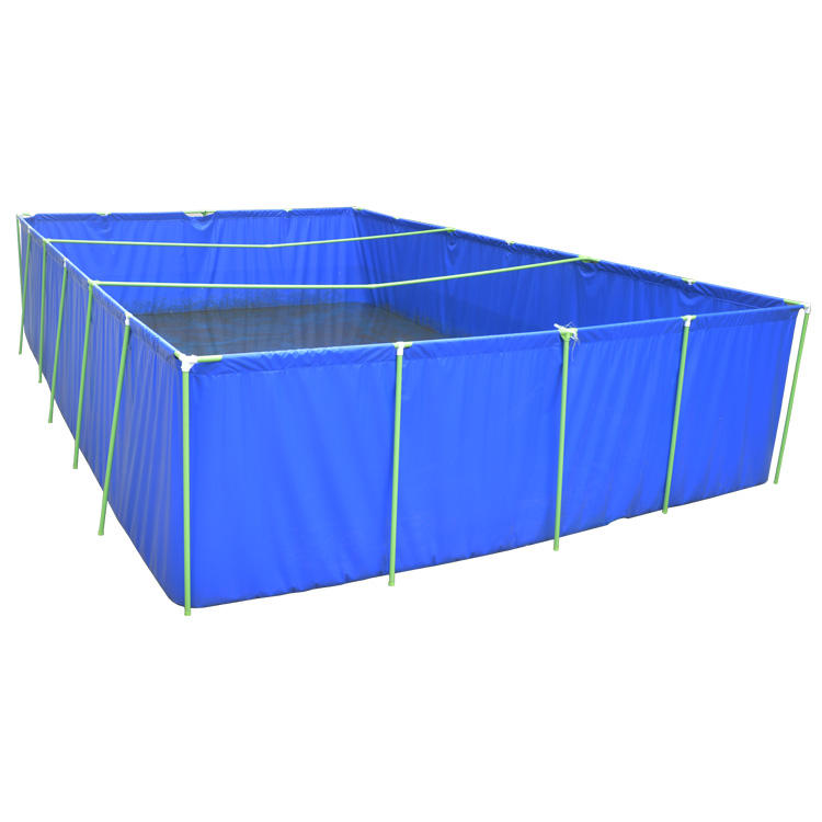 Collapsible Farming Canvas Fish Pond Commercial Breeding in Tanks Square