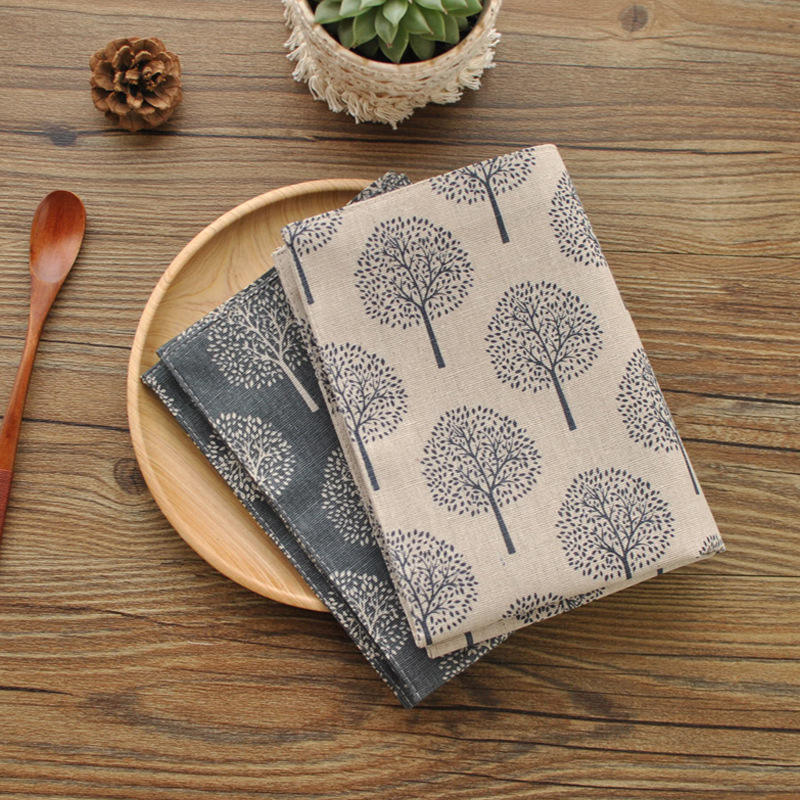 New designs linen placemat dining table mat for table decorative