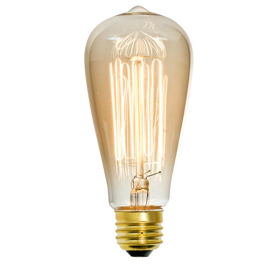 Edison Vintage Gloeilampen ST64 E27 40 W 240 V <span class=keywords><strong>Antieke</strong></span> Gloeilamp Warm Wit Lampen