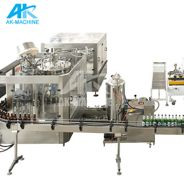 3000BPH 330ml Automatic Beer Filling Line/ Glass Bottle Filling Machine/Alcohol Bottling Line Plant