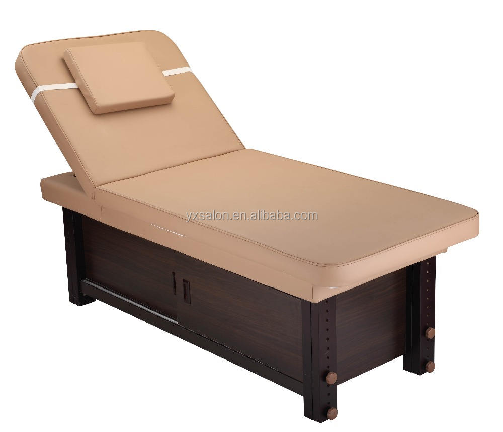 2017 Very Strong Heavy Duty Solid Wood Massage Bed(GH6632A)