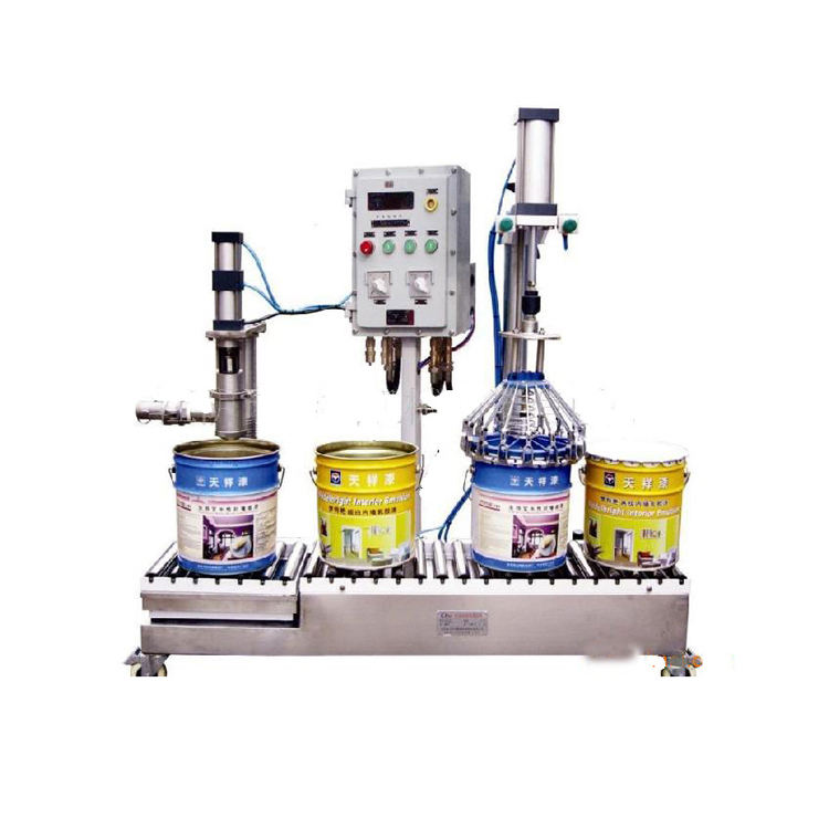 Strict Quality Check Factory Low Price Paint Filling machine Line