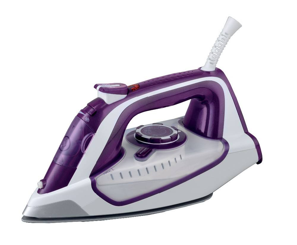 2200W Ceramic Soleplate Anti-drip Portable Wholesale Steam Iron