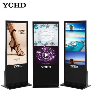 43 inch touch screen digital kiosk price advertising player
