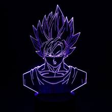 bedroom light As Kid'S Gift dragon ball 3D lamp LED stereo illusio light creat Desk lamp 7 Colored change lights Atmosphere lamp