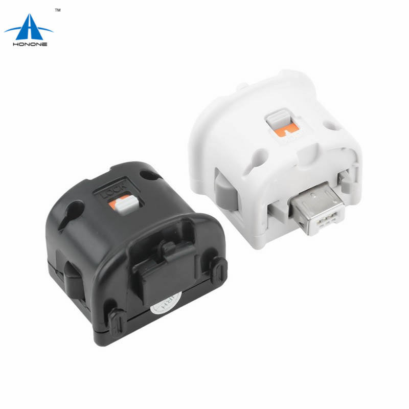 Motion Plus ADAPTER SENSOR สำหรับ Nintendo สำหรับ Wii REMOTE Controller Black & White