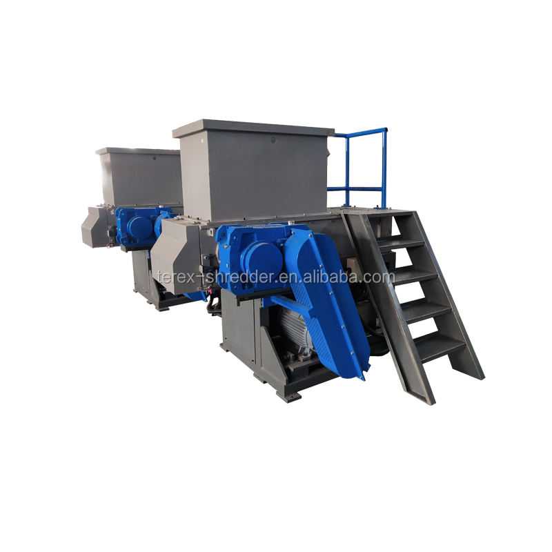 PVC pijp shredder machines/plastic pijp shredder recycling